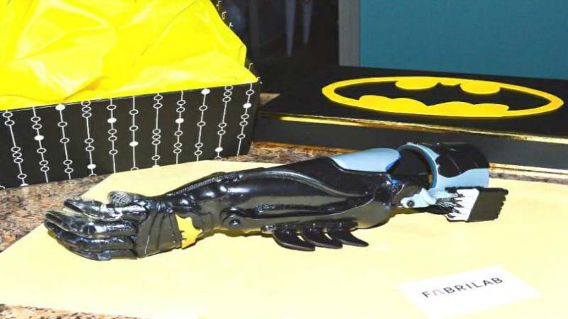 Superhero Prosthetics customized specially for Children of Colombia