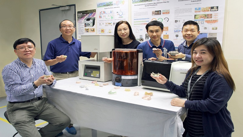 Dental Crowns and Bridges Gets Tweaked by Temasek Polytechnic Using 3d Printing