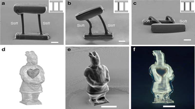 Programmed Objects Firmness Mixed With SLA And 3D Printing For Tissue Bioprinting