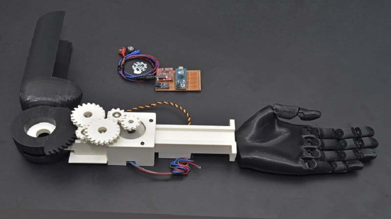 TOIL team adds Motor Ability and more to 3D Printed Prosthetics