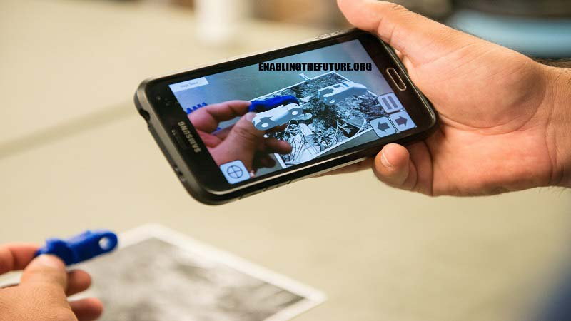 AR App that helps e NABLE Volunteers learn Prosthetic Assembling