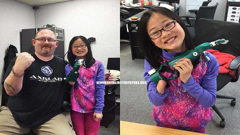 e NABLE volunteer dedicates life to transform 3D Printing into Helping Hand