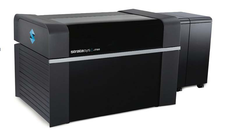 Stratasys to display J750 3D Printer at TCT Show